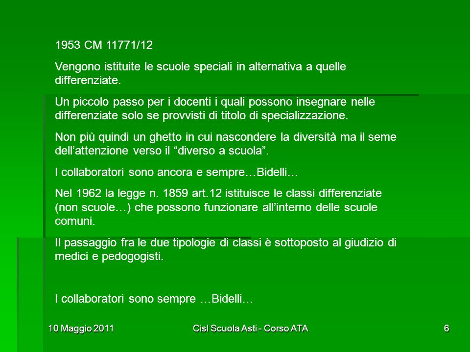 Cisl Scuola Asti - Corso ATA