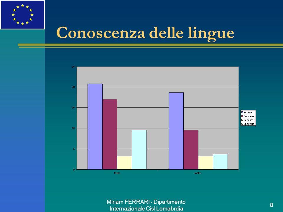 Conoscenza delle lingue