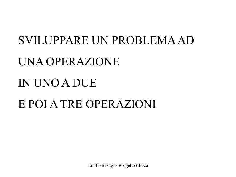 Emilio Brengio Progetto Rhoda