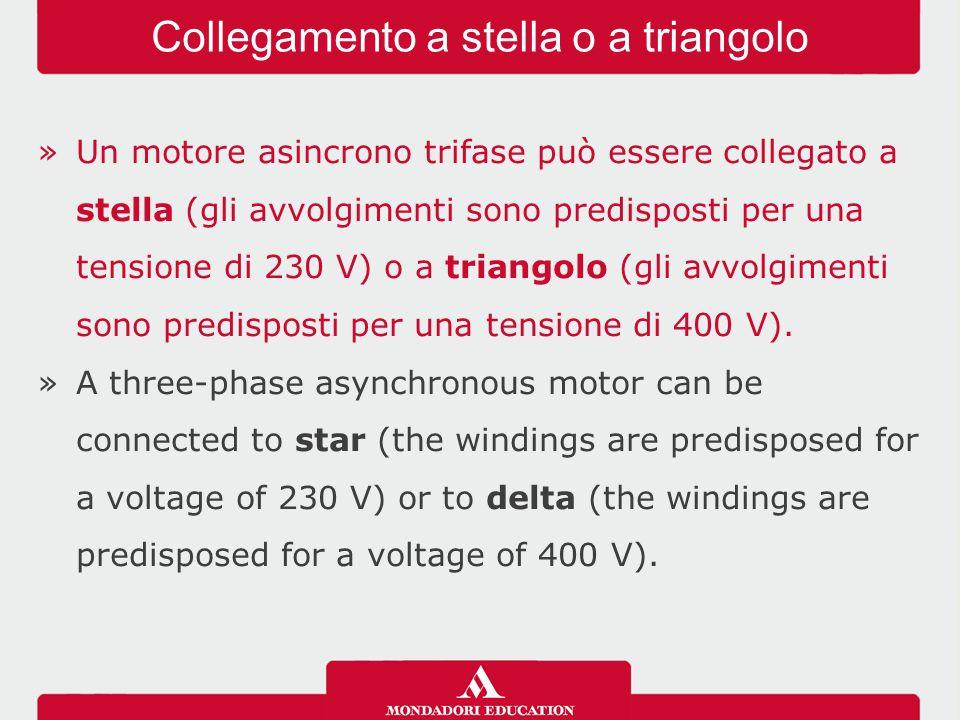 Collegamento a stella o a triangolo