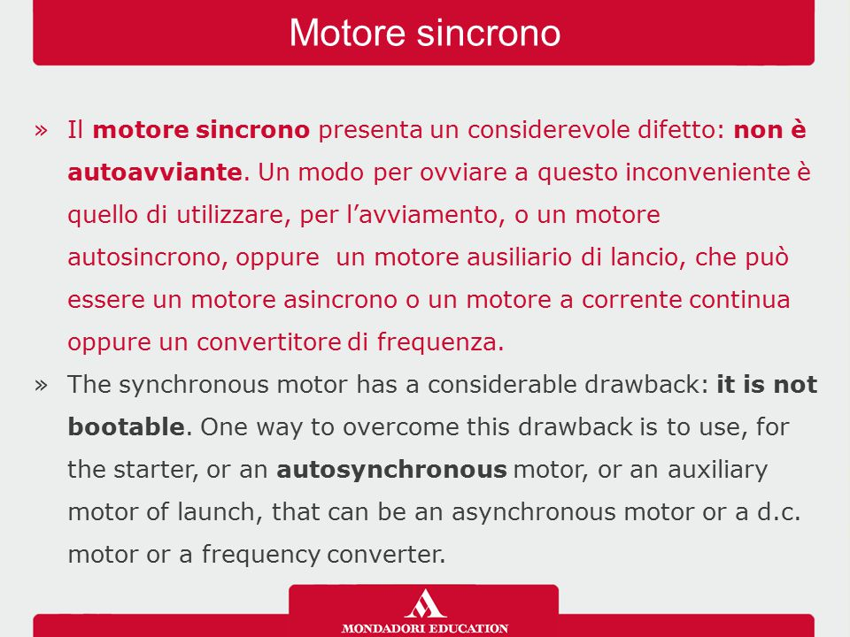 Motore sincrono