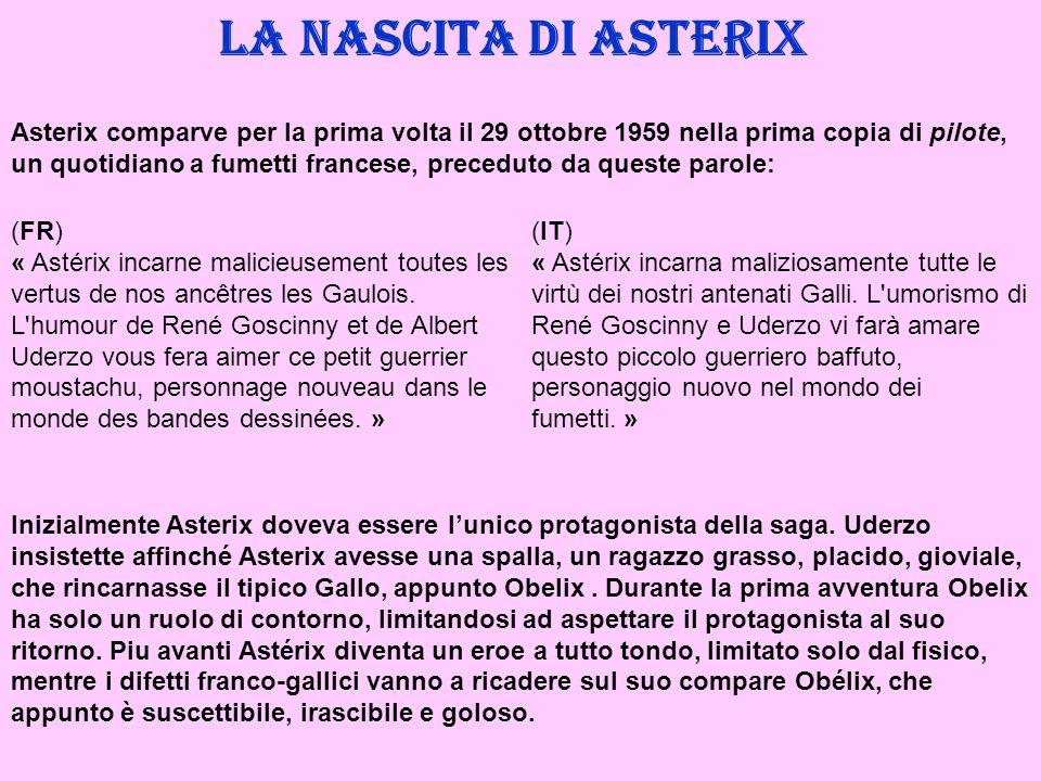 La nascita di Asterix