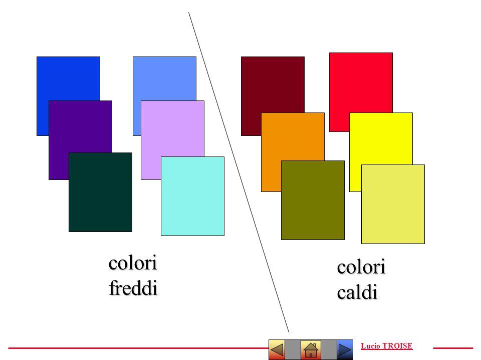 colori freddi colori caldi Lucio TROISE