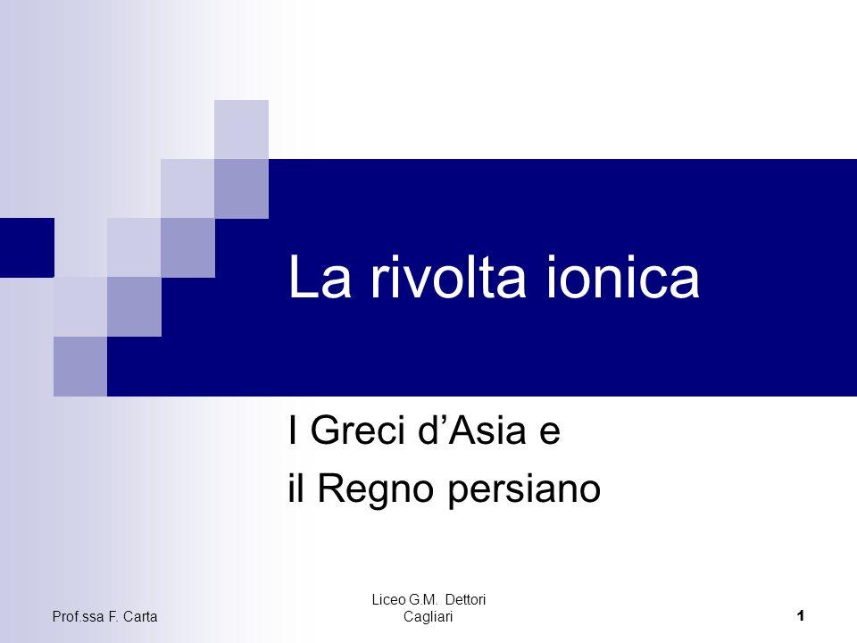 I Greci d'Asia e il Regno persiano