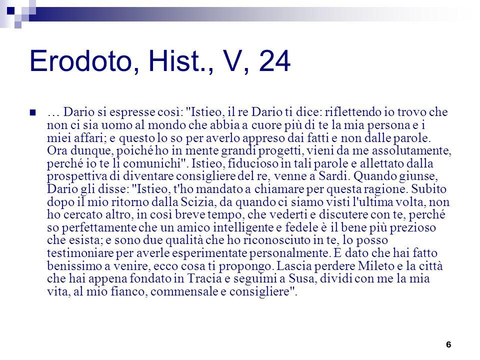 Erodoto, Hist., V, 24