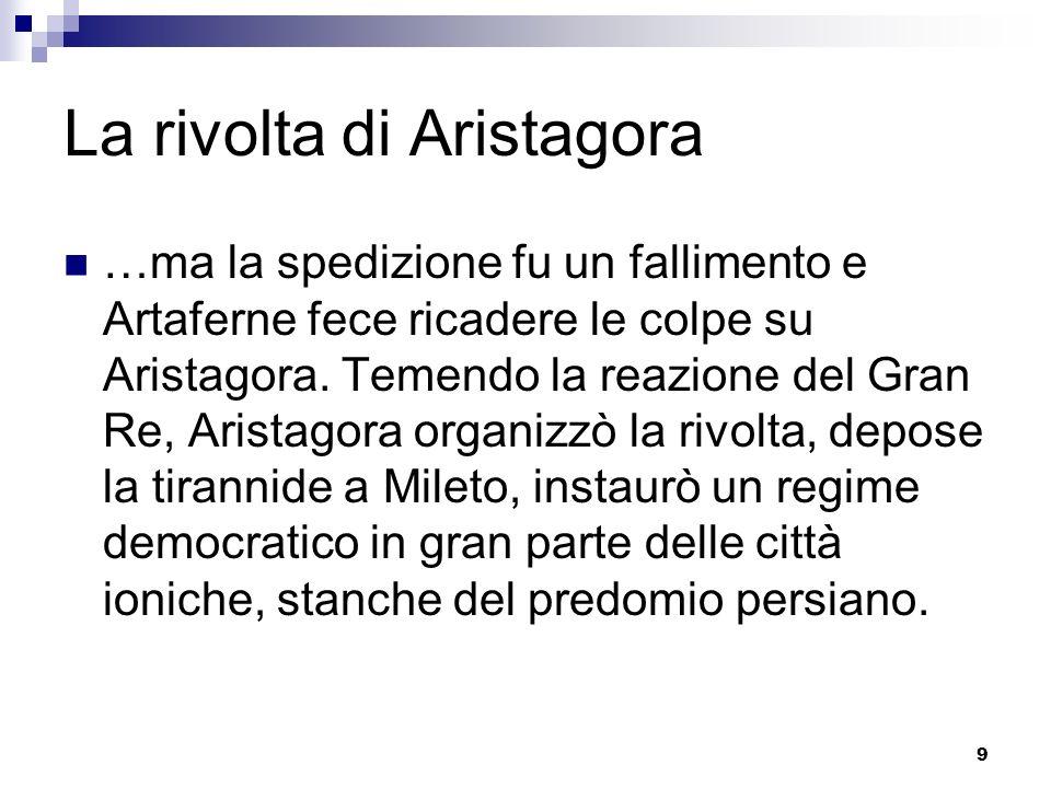 La rivolta di Aristagora