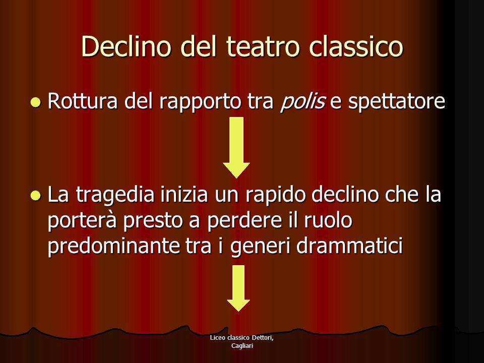 Declino del teatro classico