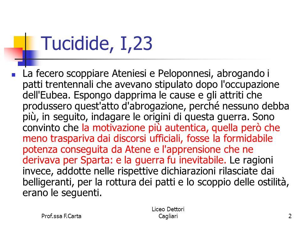 Tucidide, I,23