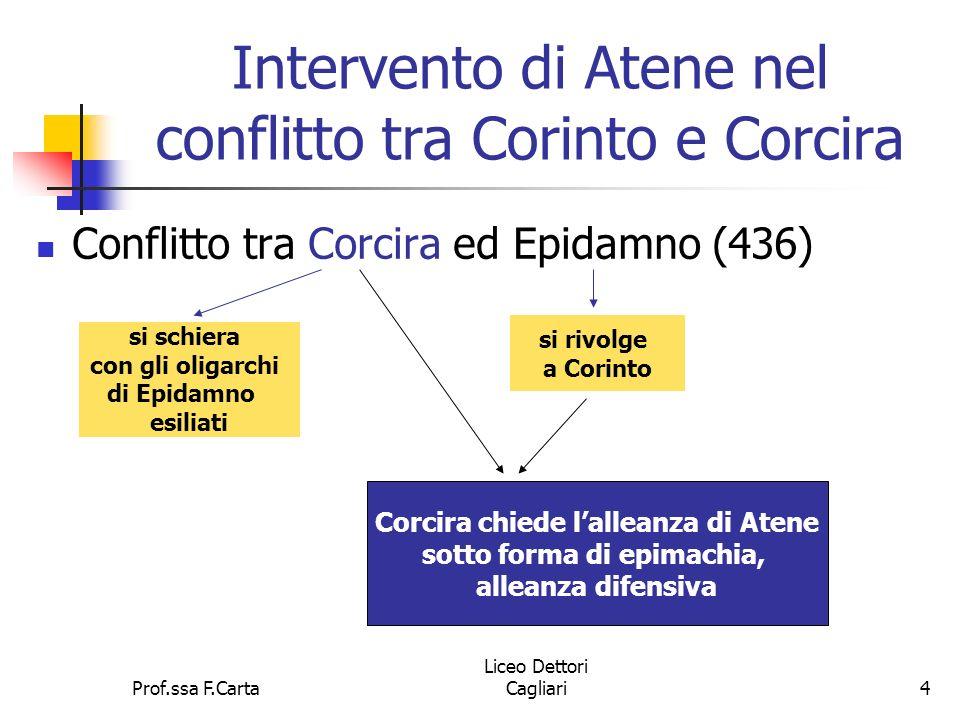 Intervento di Atene nel conflitto tra Corinto e Corcira