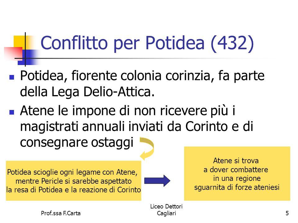 Conflitto per Potidea (432)