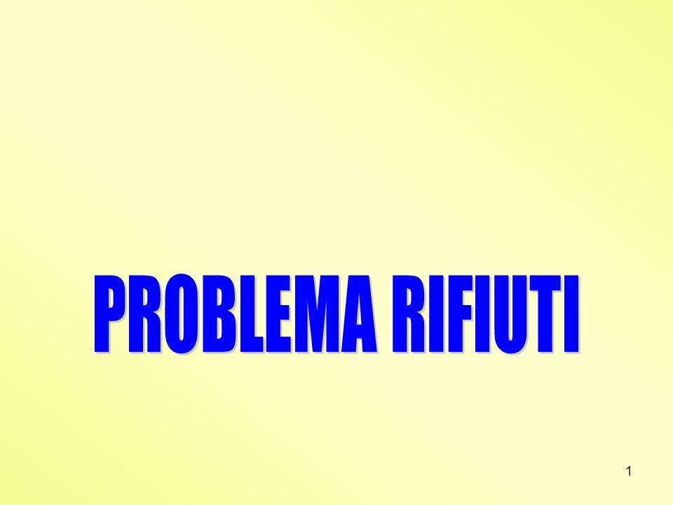PROBLEMA RIFIUTI