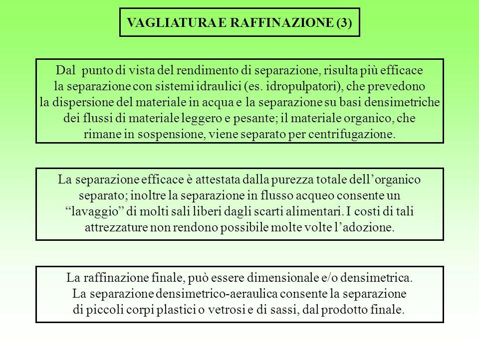 VAGLIATURA E RAFFINAZIONE (3)