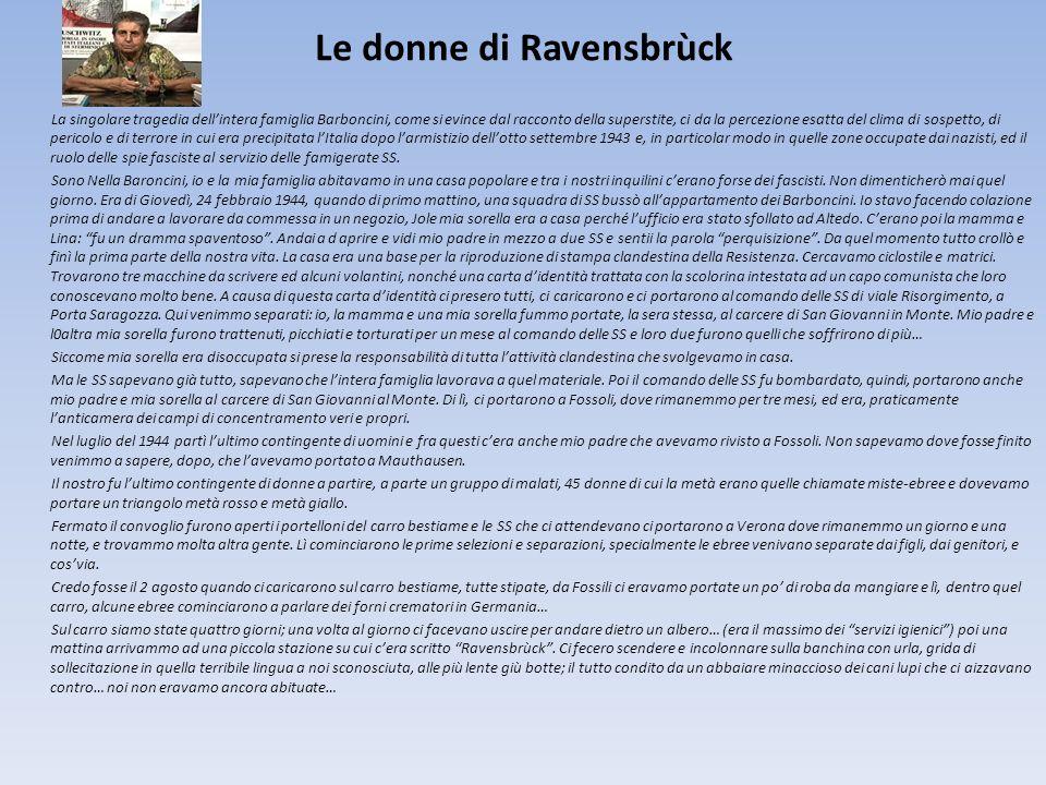 Le donne di Ravensbrùck