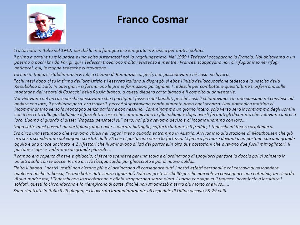 Franco Cosmar