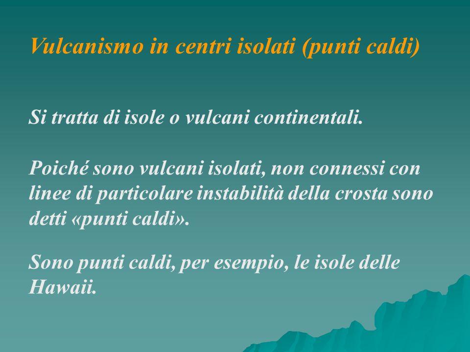 Vulcanismo in centri isolati (punti caldi)