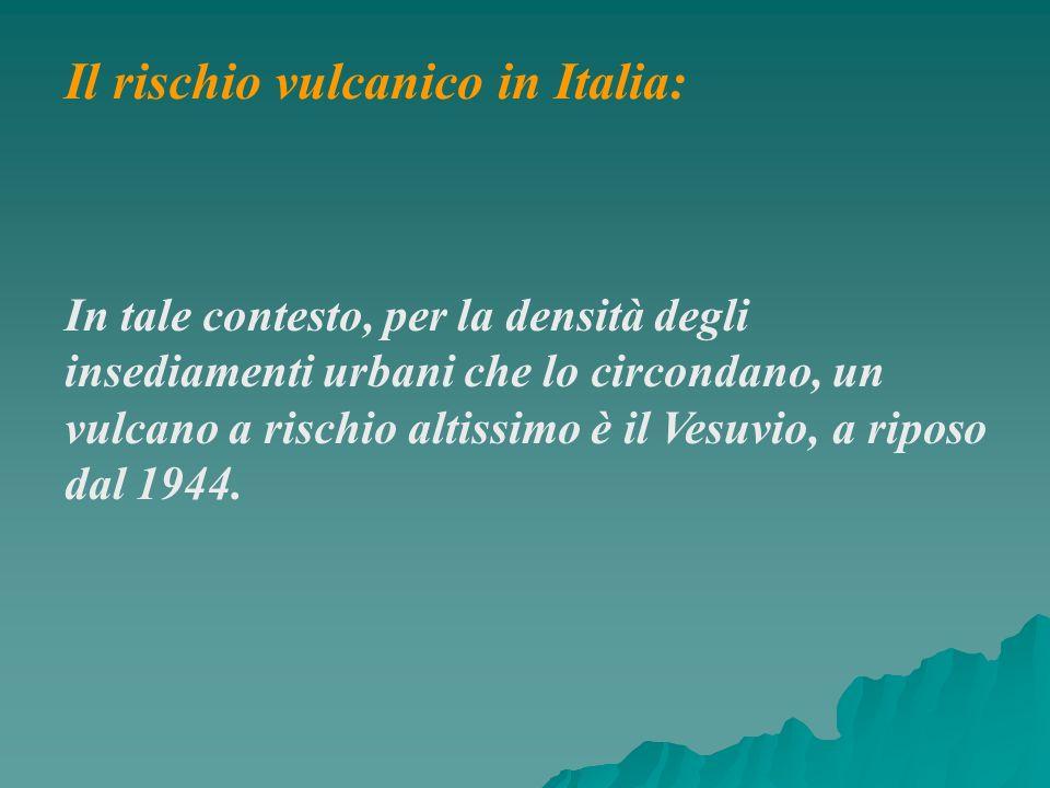 Il rischio vulcanico in Italia: