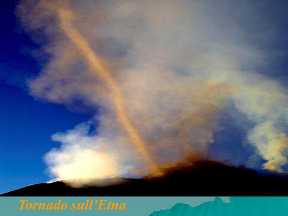 Tornado sull'Etna