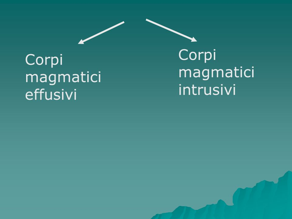 Corpi magmatici intrusivi