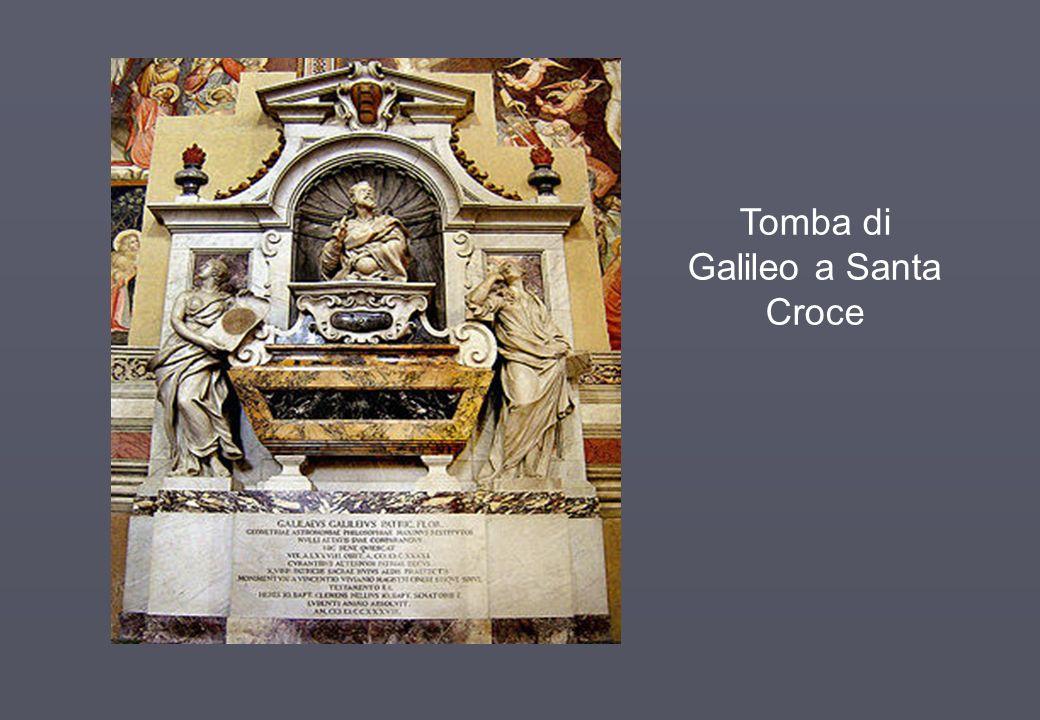 Tomba di Galileo a Santa Croce