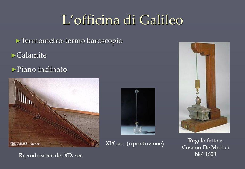 L'officina di Galileo Termometro-termo baroscopio Calamite