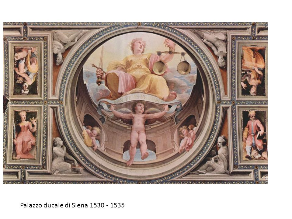 Palazzo ducale di Siena 1530 - 1535