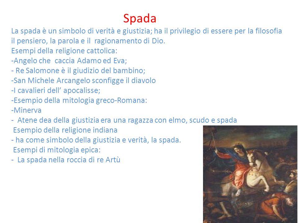 Esempi della religione cattolica: Angelo che caccia Adamo ed Eva;