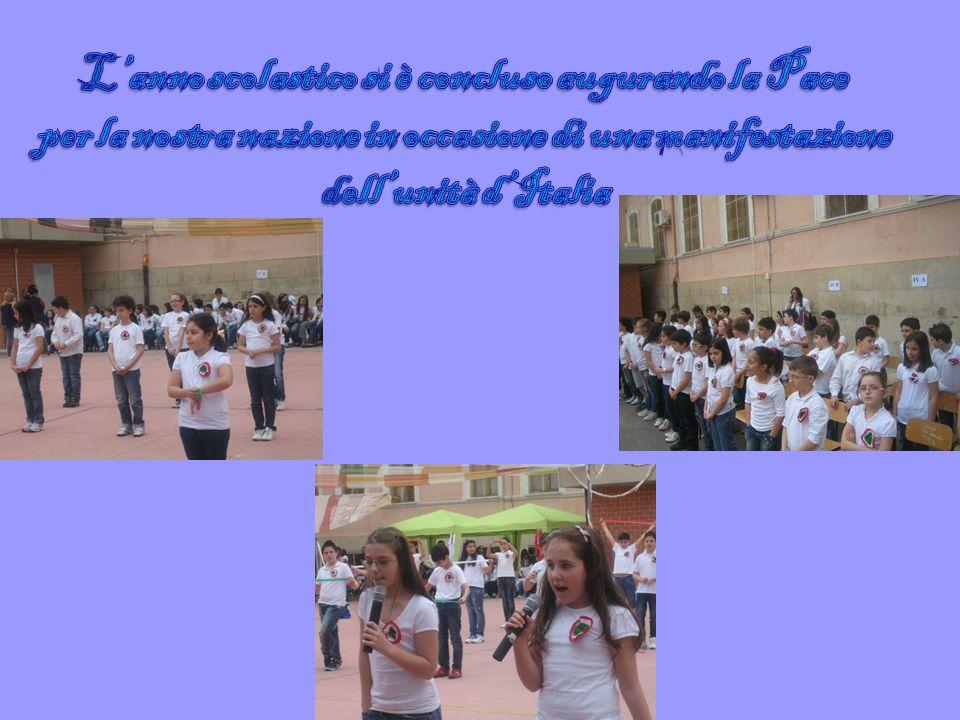 L'anno scolastico si è concluso augurando la Pace