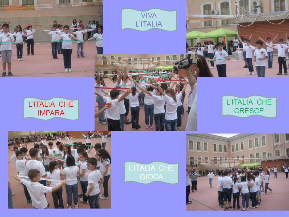 VIVA L'ITALIA L'ITALIA CHE CRESCE L'ITALIA CHE IMPARA L'ITALIA CHE GIOCA