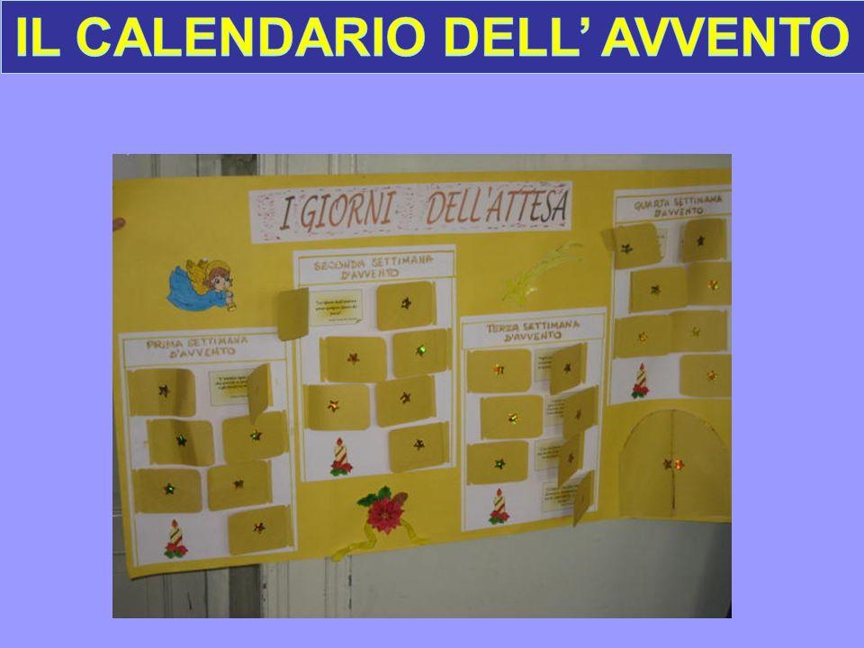 IL CALENDARIO DELL' AVVENTO