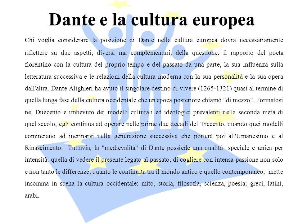 Dante e la cultura europea