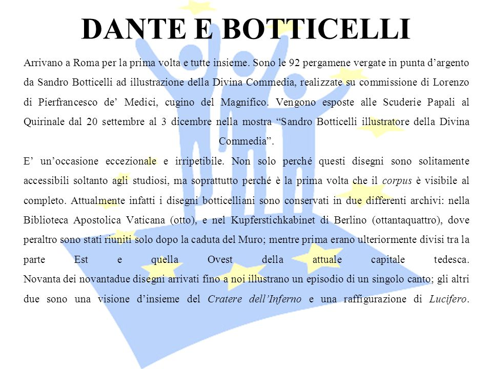 DANTE E BOTTICELLI