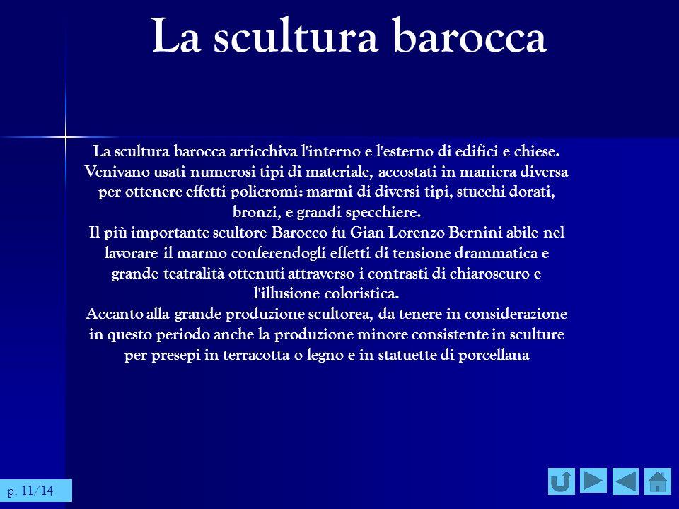 La scultura barocca