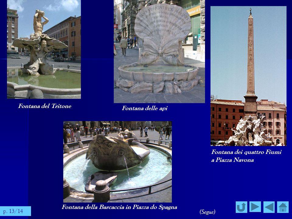 Fontana dei quattro Fiumi a Piazza Navona