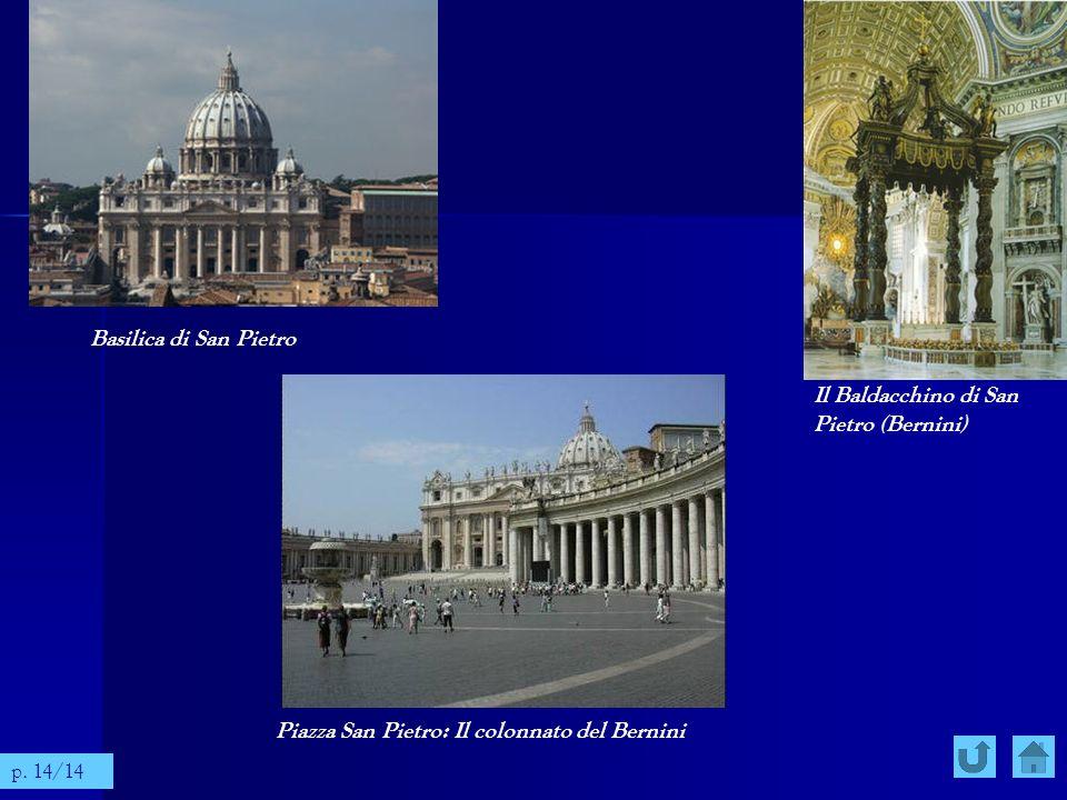 Il Baldacchino di San Pietro (Bernini)