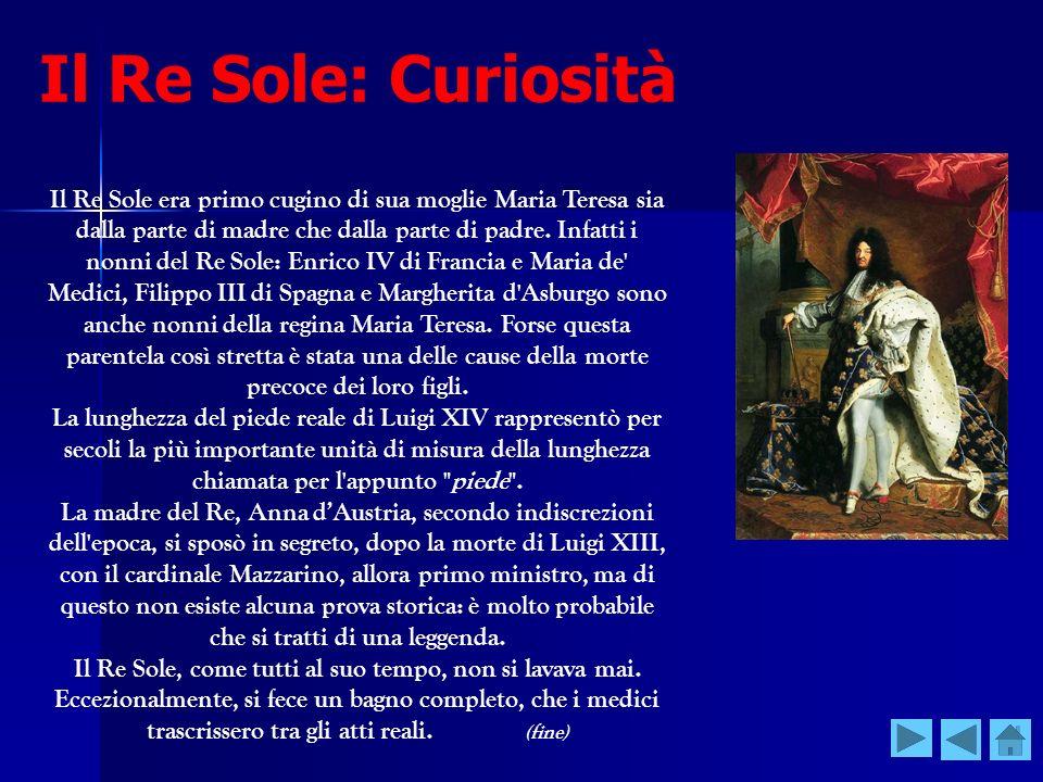 Il Re Sole: Curiosità