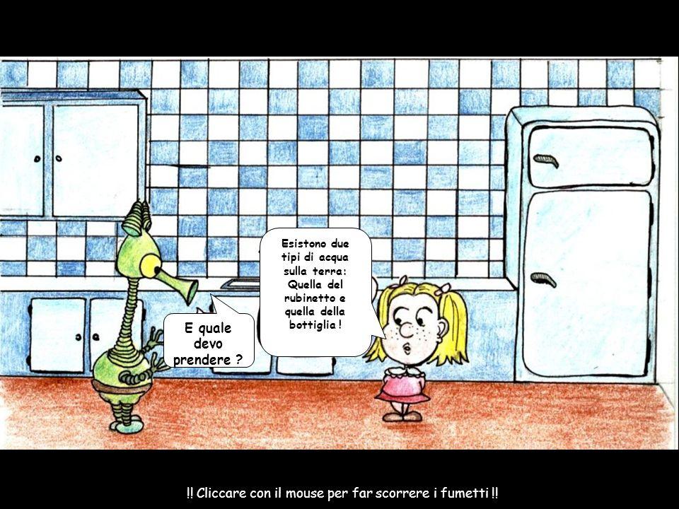 !! Cliccare con il mouse per far scorrere i fumetti !!
