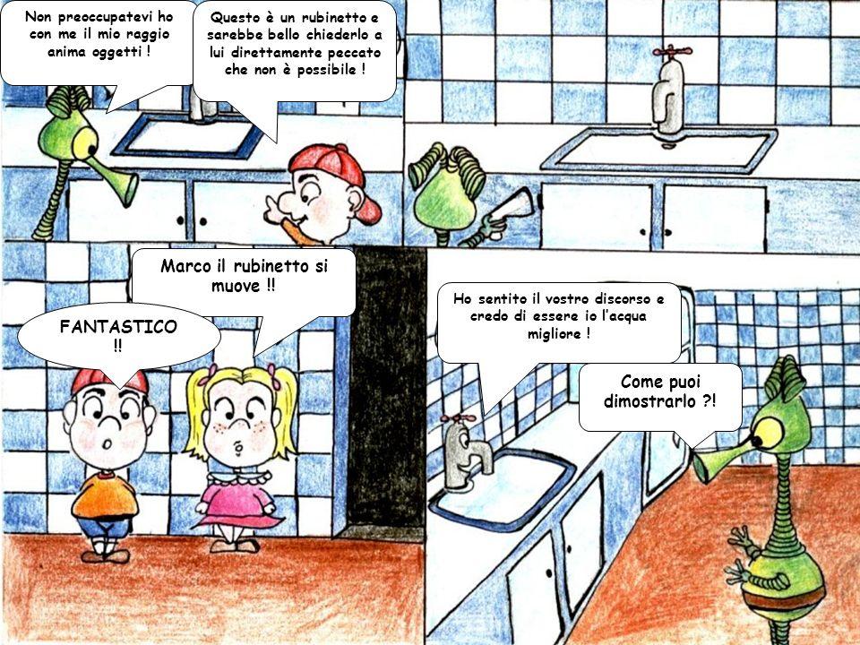 Marco il rubinetto si muove !! FANTASTICO !! Come puoi dimostrarlo !