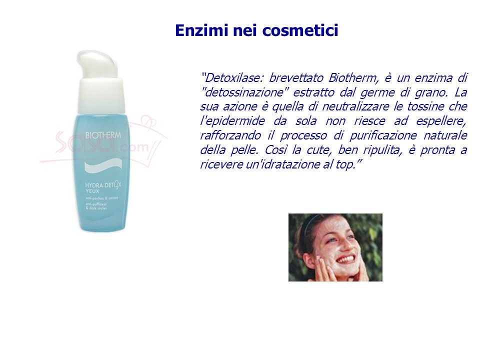 Enzimi nei cosmetici