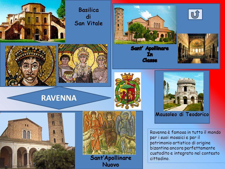 RAVENNA Basilica di San Vitale Sant'Apollinare Nuovo Sant' Apollinare