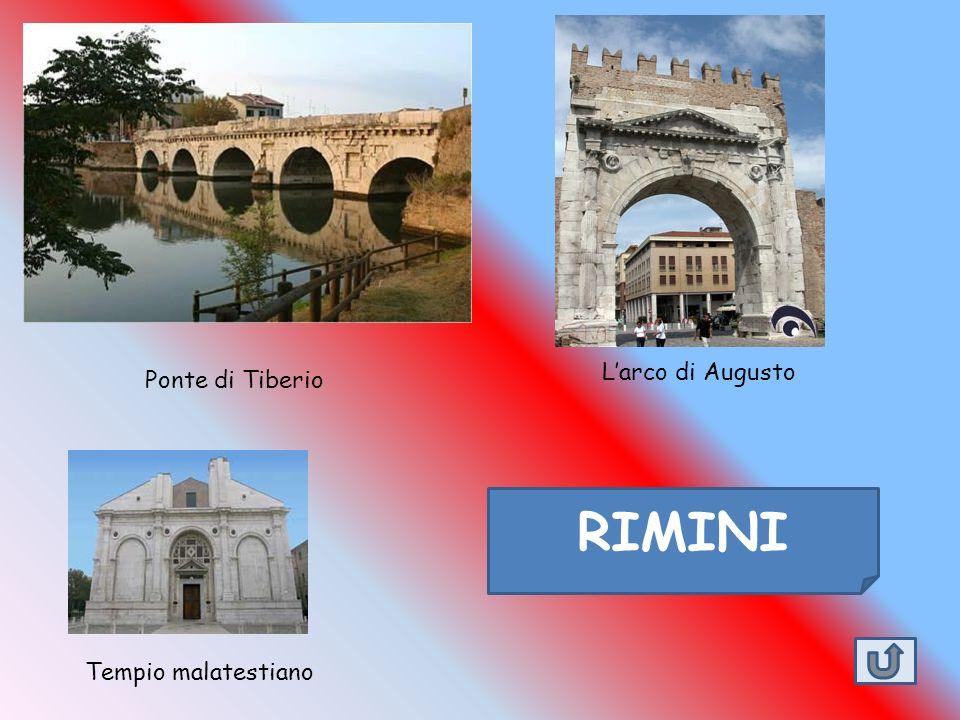 L'arco di Augusto Ponte di Tiberio RIMINI Tempio malatestiano
