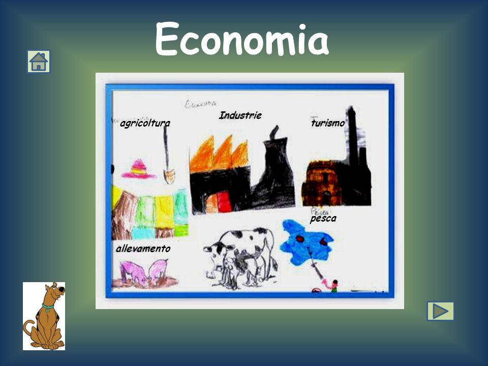 Economia Industrie agricoltura turismo pesca allevamento