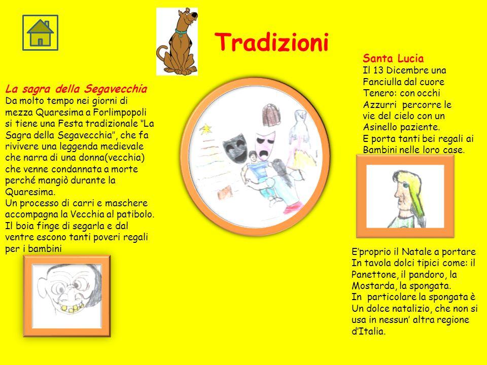 Tradizioni Santa Lucia La sagra della Segavecchia Il 13 Dicembre una
