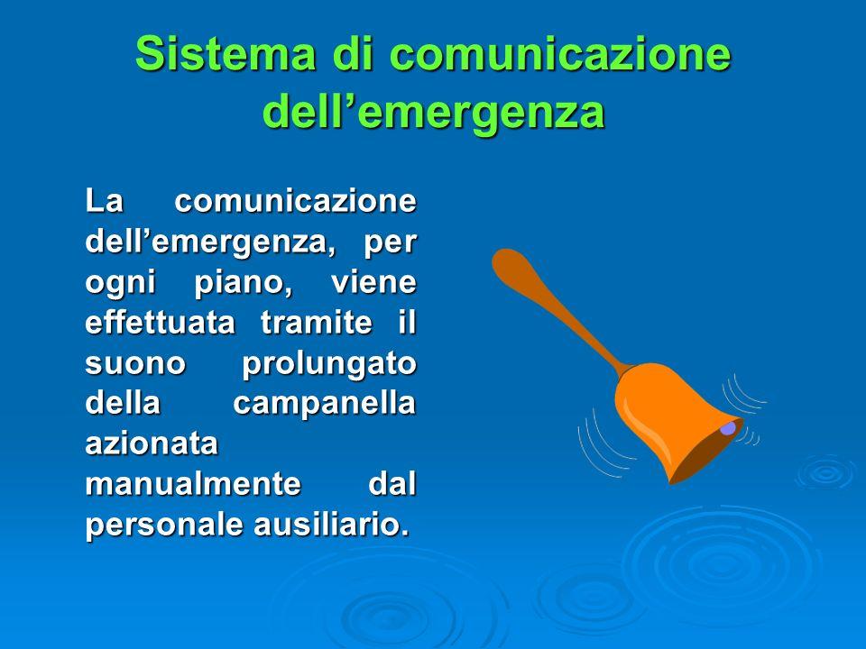 Sistema di comunicazione dell'emergenza