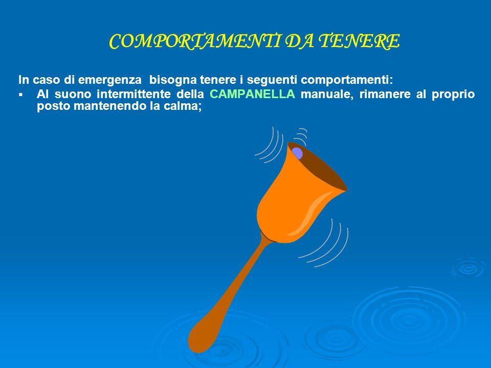 COMPORTAMENTI DA TENERE