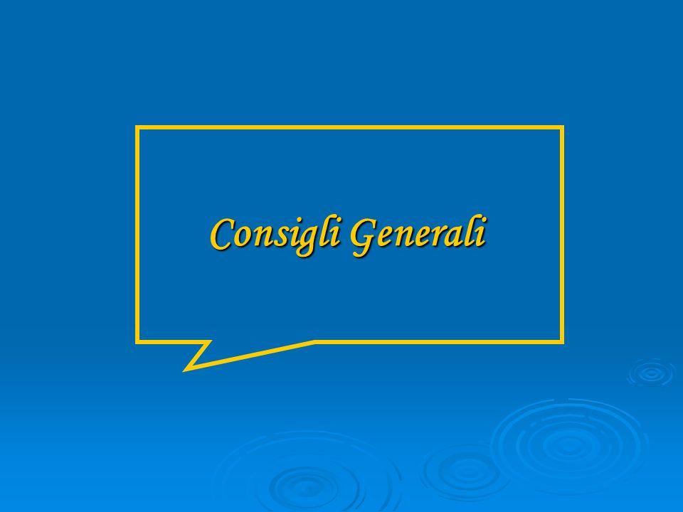 Consigli Generali
