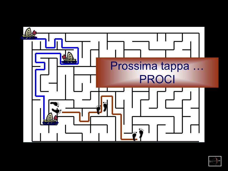 Prossima tappa … PROCI