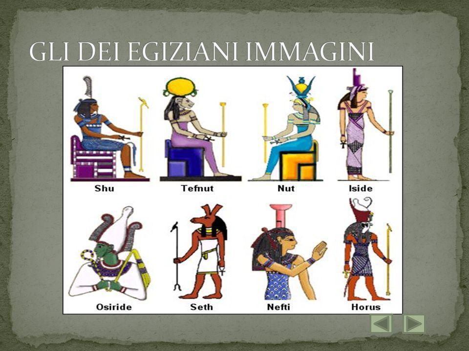 GLI DEI EGIZIANI IMMAGINI