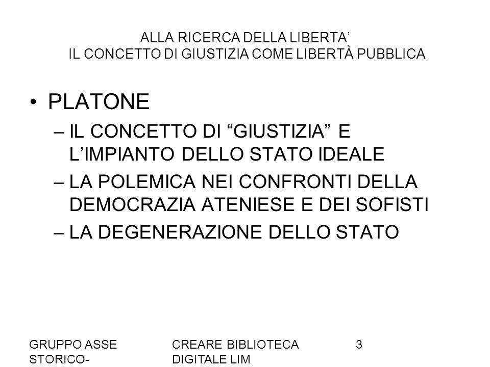 PLATONE IL CONCETTO DI GIUSTIZIA E L'IMPIANTO DELLO STATO IDEALE