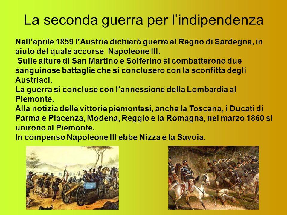 La seconda guerra per l'indipendenza