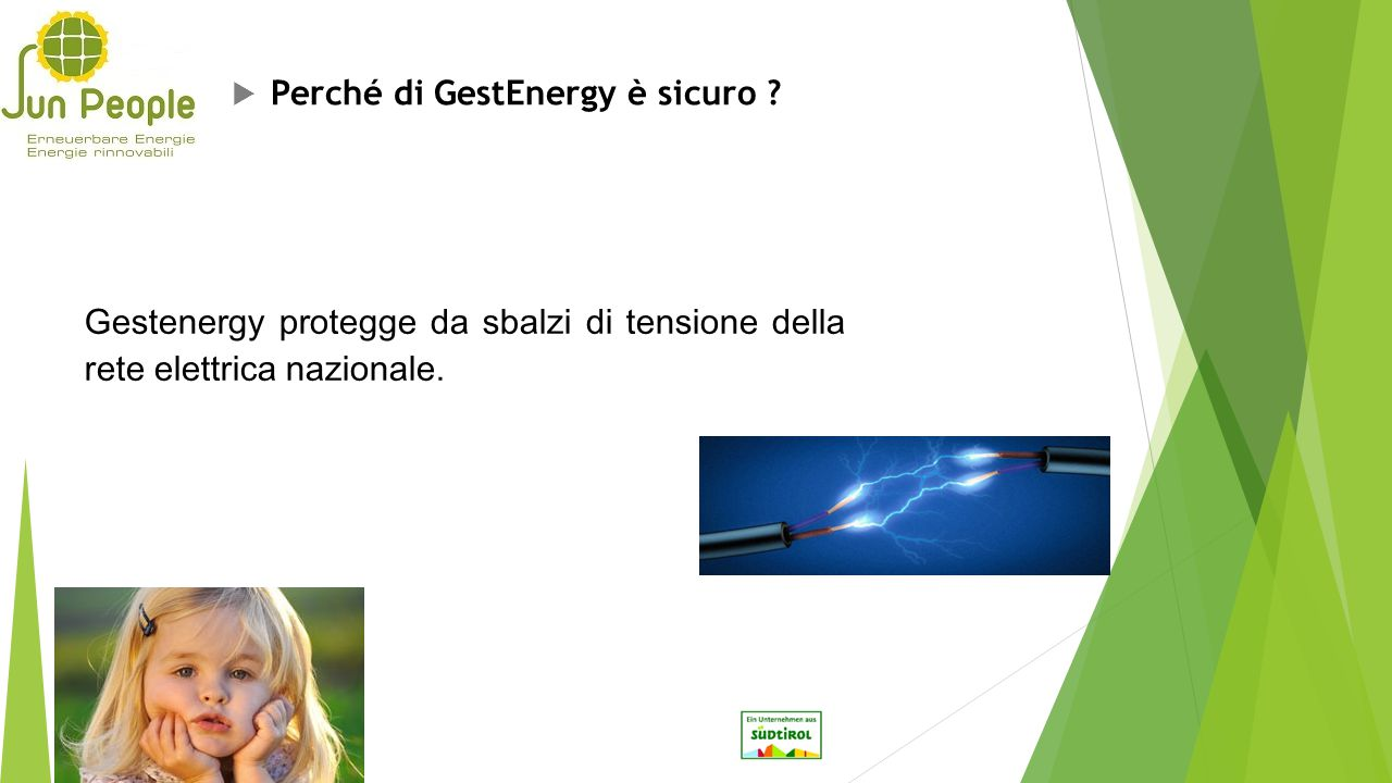 Perché di GestEnergy è sicuro